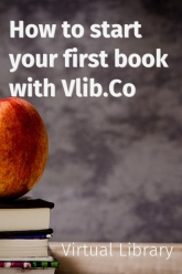How to start your first book with Vlib.Co - Virtual Library